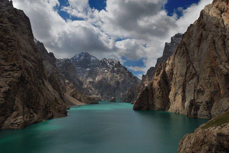 киргизия, горы, озеро Озеро Кель-Суphoto preview