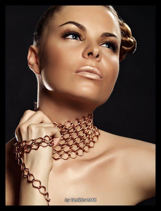 гламур, портрет фото Макс Давыдов, стилист Настя Весна, модель я,Vera Annphoto preview