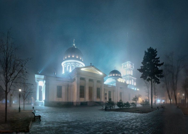одесса, odessa В туманеphoto preview