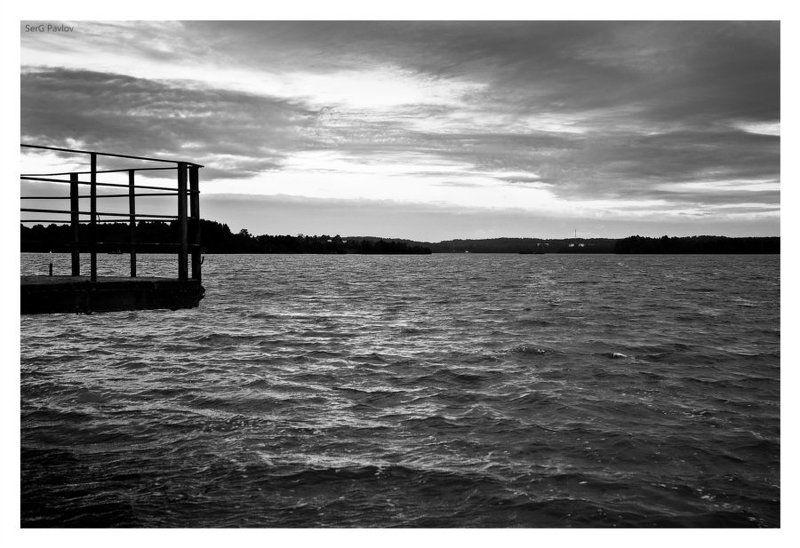 Черно-белое утро!photo preview