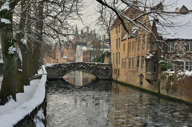 Winter in Bruges.photo preview