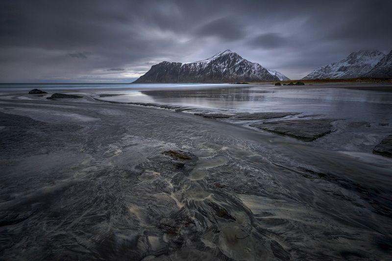 skagsanden, beach, norwey, sea, lofoten Skagsanden IIphoto preview