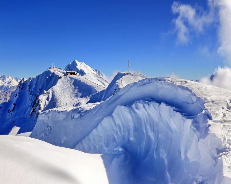 зима, горы В горах*photo preview