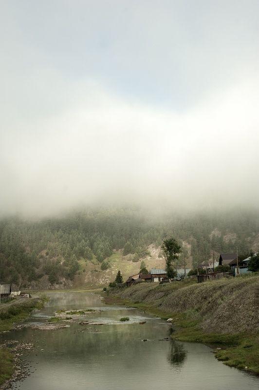 Утро. Кага. Туман.photo preview