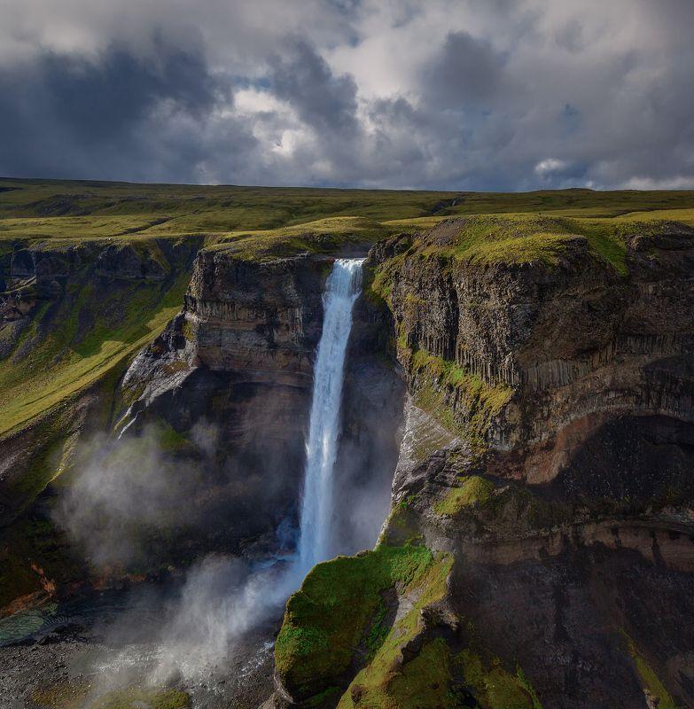islandia, iceland, háifoss, haifoss, исландия, Водопад Хауифосс.photo preview