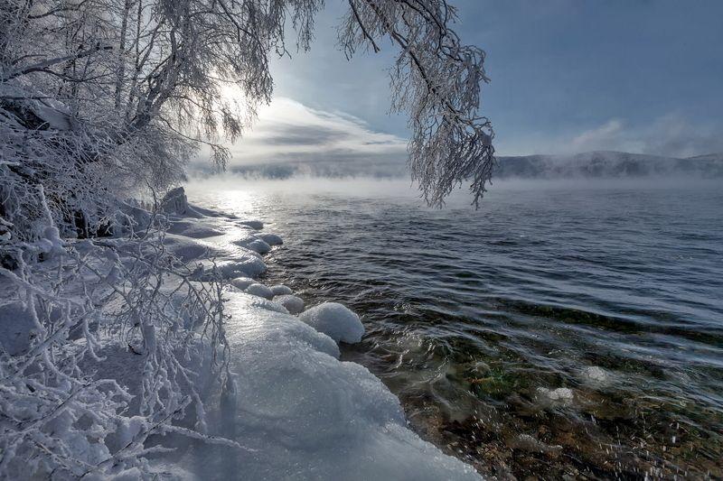 Дыхание тумана и зимыphoto preview