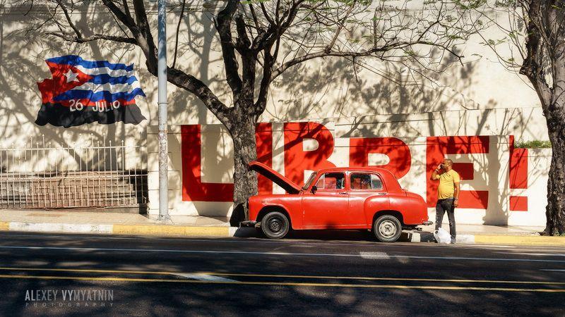 cuba, libre, havana, car, broken, old car, гавана, куба, street, urban, sunny, colors Cuba Libre [Redux]photo preview