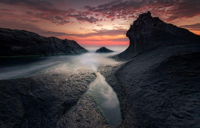 Black sea Sunrisephoto preview