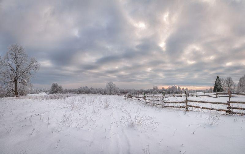 пейзаж Псковская глубинка.photo preview