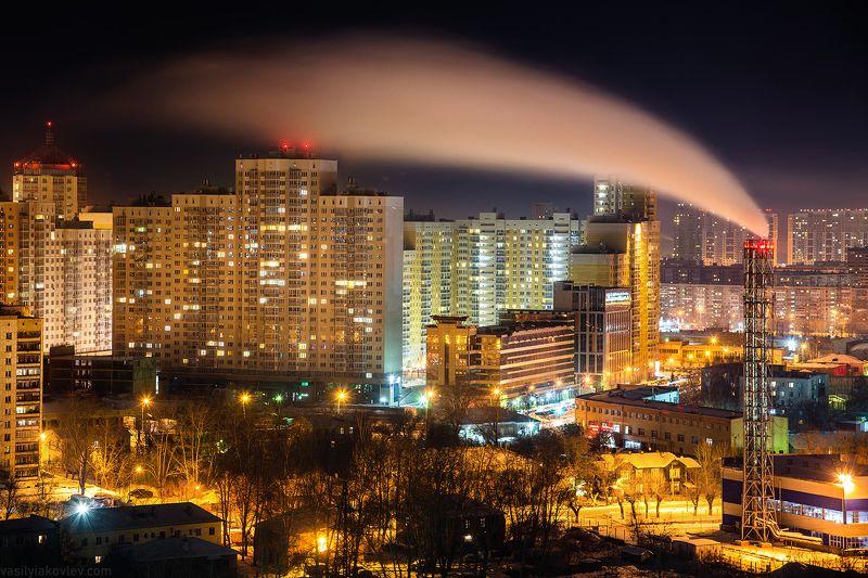 екатеринбург, город, ночь Вечер в Екатеринбургеphoto preview