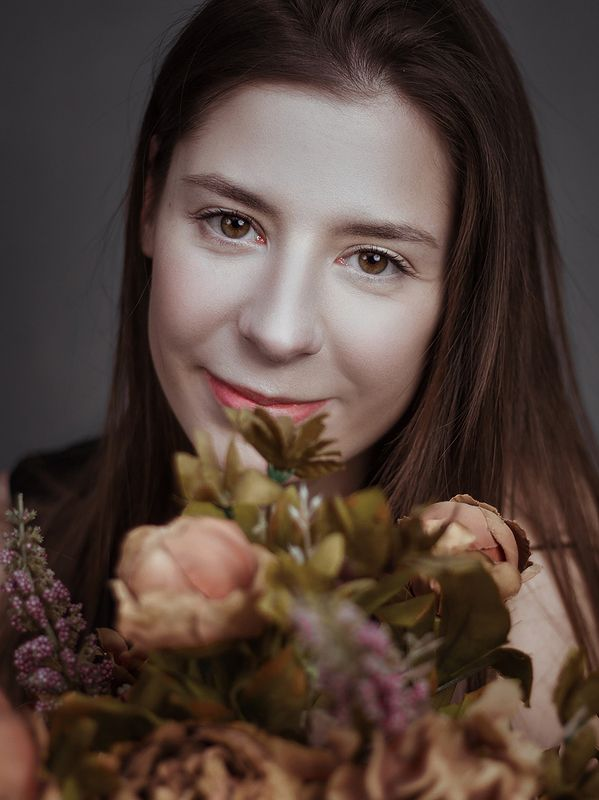 портрет, женский портрет, студийный портрет Валерияphoto preview