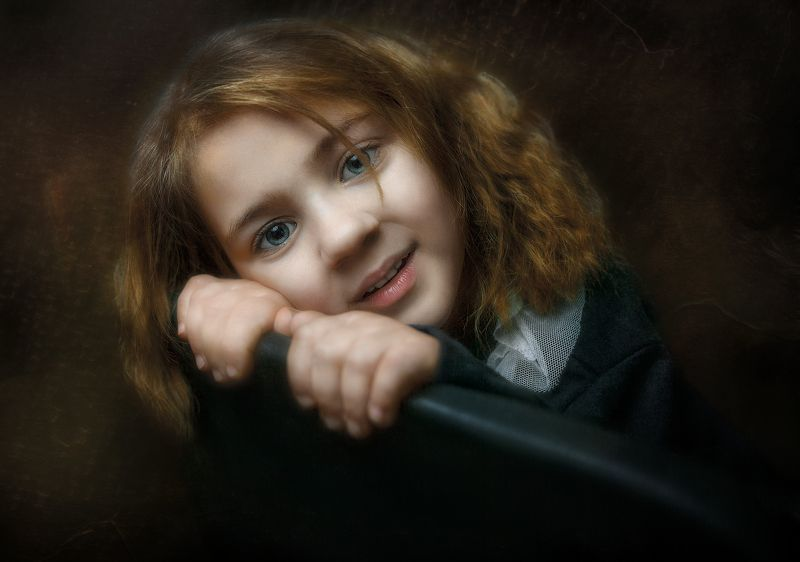 девочка, портрет Доминикаphoto preview