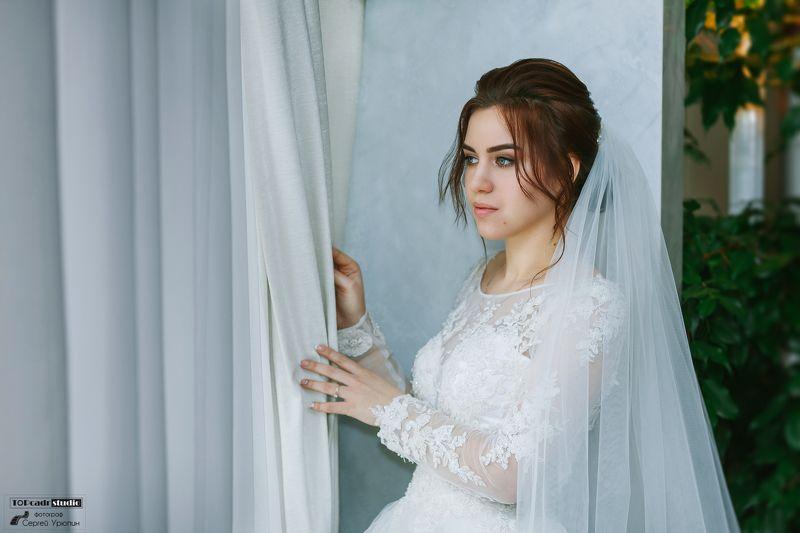 невеста, портрет, свадебная прогулка Невестаphoto preview
