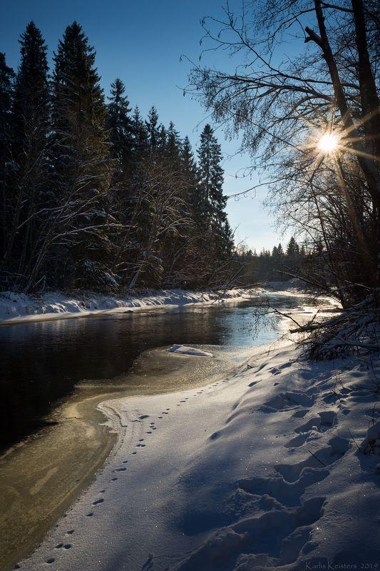 Река Амата в январеphoto preview
