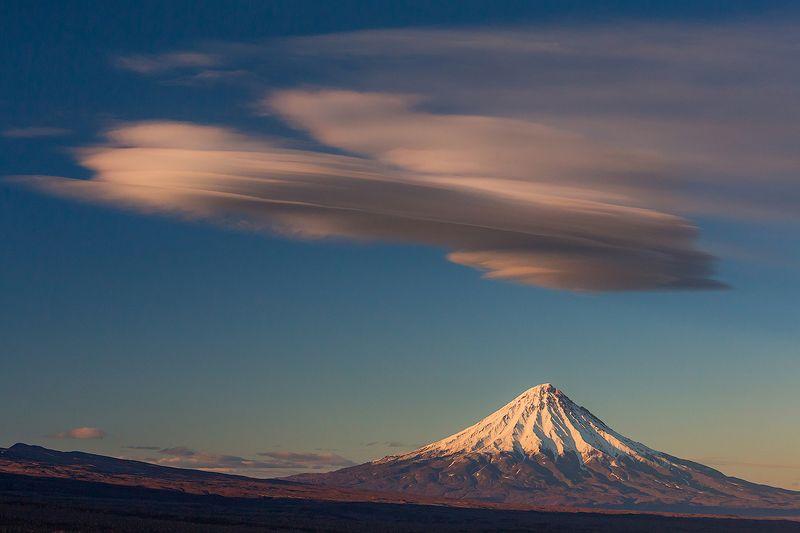 камчатка, осень, облака, пейзаж, природа, путешествие, фототур,  Лентикулярыphoto preview