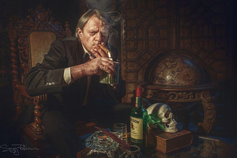 студия цитадель, портрет, замок. мужчина, portrait, rekhov Ночь коррупционераphoto preview