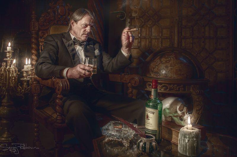 студия цитадель, портрет, замок. лорд, portrait, rekhov Лордphoto preview
