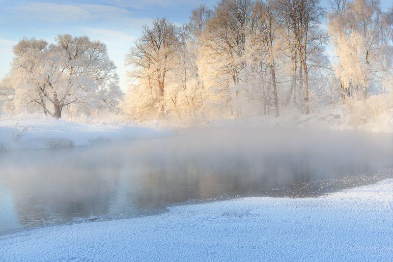 В чудесное утро зимы и морозаphoto preview