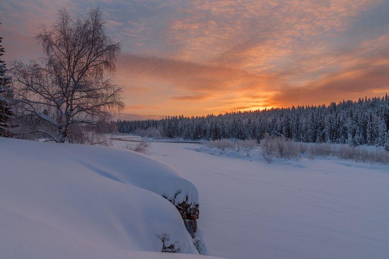 Фототуры с Владимиром Рябковым, Республика Коми, река Печора. Рассвет на Печоре. photo preview