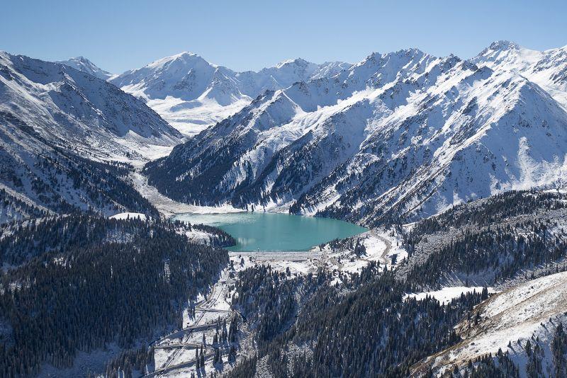 тянь-шань, северный тянь-шань, алматы, бао, большое алматинское озеро, заилийский алатау, кунгей-алатоо, горы, бартогай, чилик, Северный Тянь-Шань зимойphoto preview