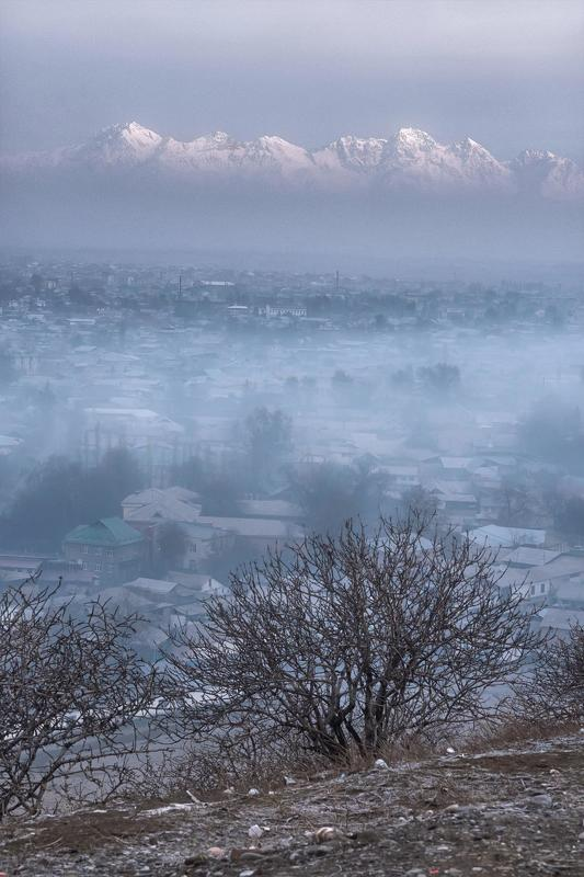Киргизия, Кыргызстан, Kyrgyzstan, Central asia, silk road, mountains, горы, средняя азия,  Вид на гору Бабаш-Атаphoto preview