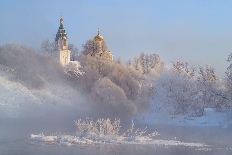 Когда в Бужарово зима.photo preview