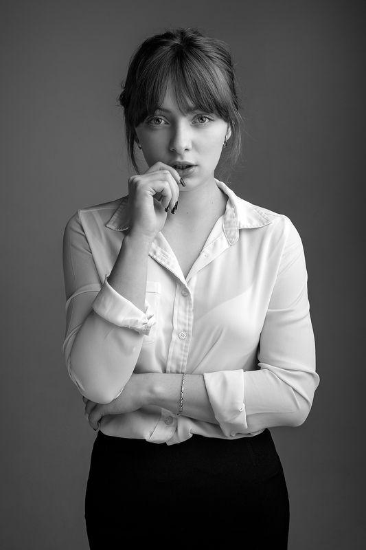 портрет, portrait, Nikon, 50mm Ксенияphoto preview