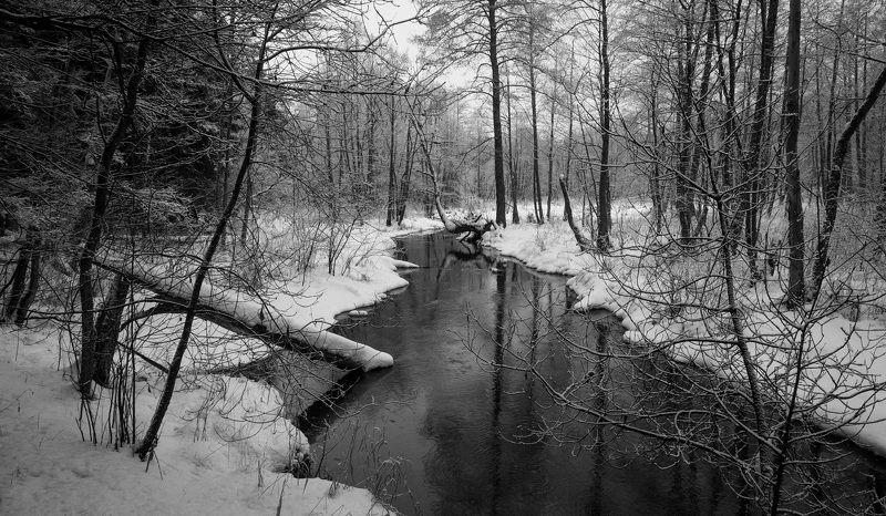Зима на реке Жорновкаphoto preview