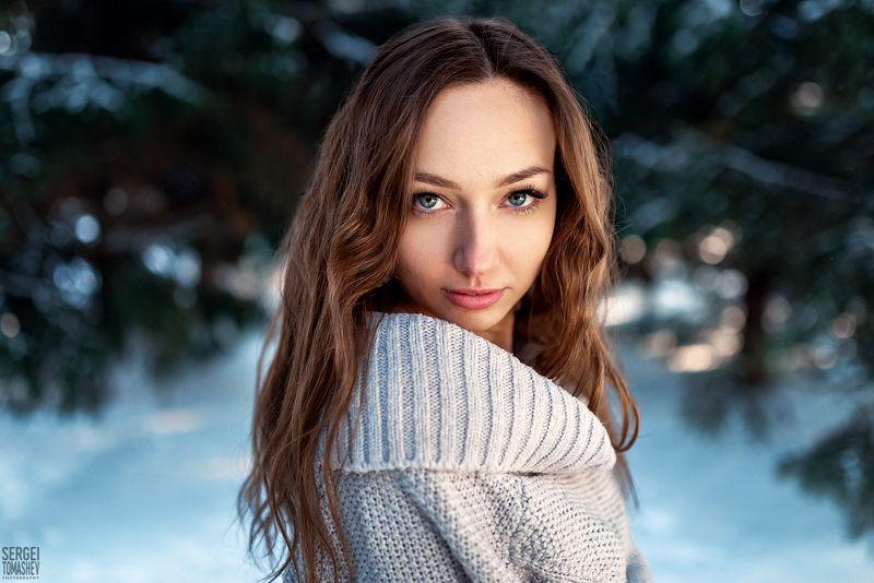 зима, портрет, глаза Natashaphoto preview