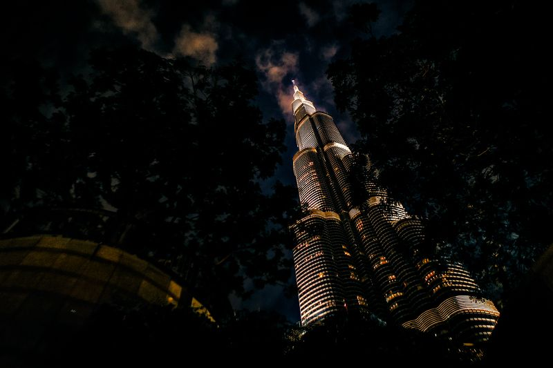 city, night, light, burj-kgalifa, uae The Arkphoto preview