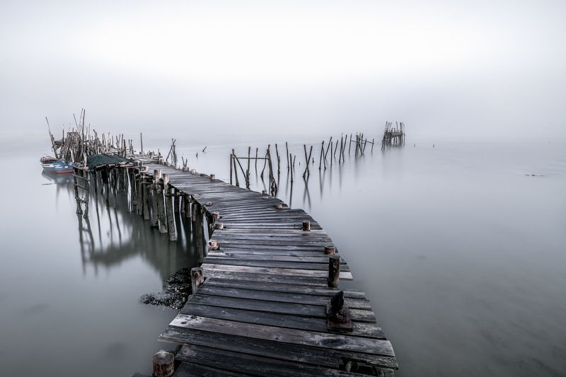 portugal,mist,old pier,long exposure,morning,travel, old pierphoto preview