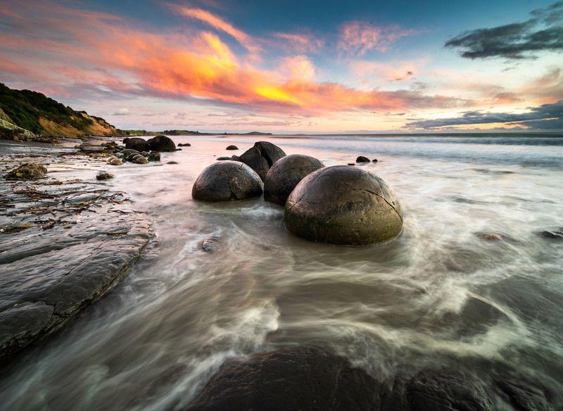 Шары Моераки, Новая Зеландияphoto preview