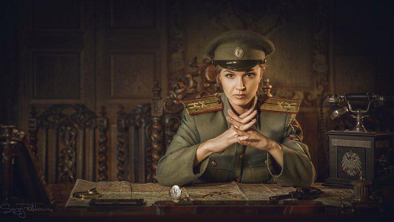 студия цитадель, портрет, portrait, rekhov Белый офицерphoto preview