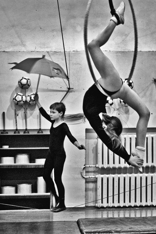 цирк, улыбка, девочка, апатиты Цирк Улыбкаphoto preview