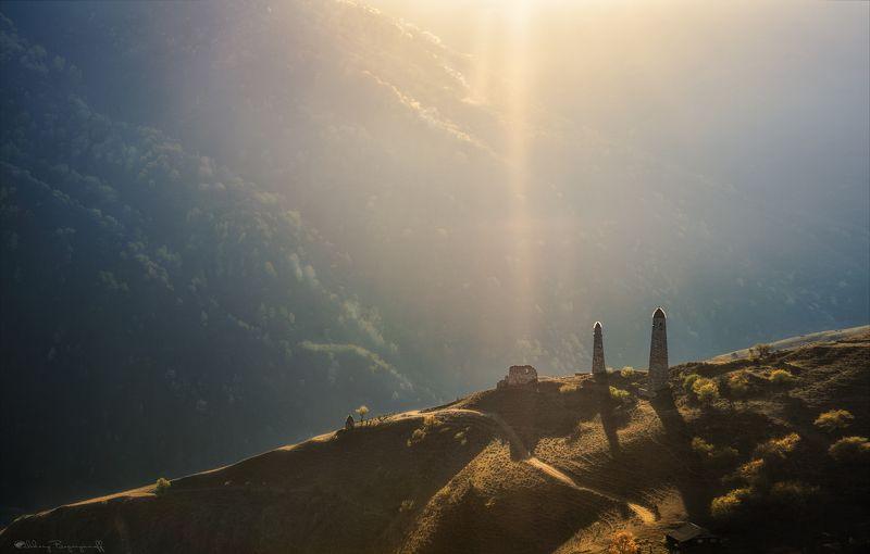 ингушетия, башни, осень Фантомные боли...photo preview