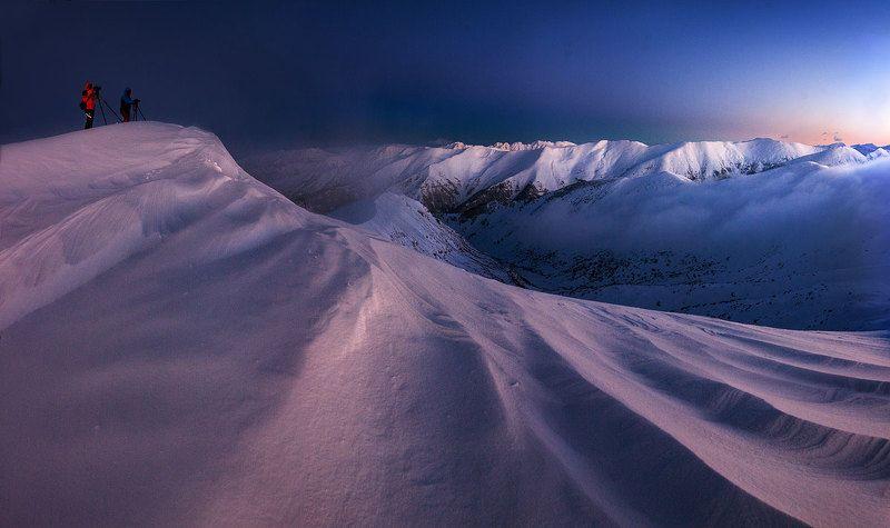 winter snow bulgaria photo preview