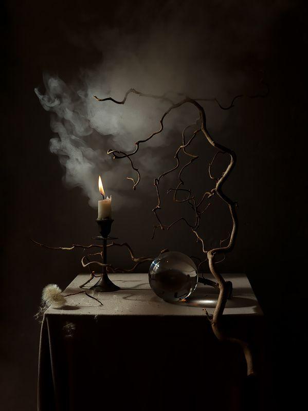 пар, магия, шар, свеча, натюрморт Магические будниphoto preview