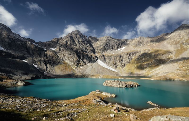 кавказ. кчр. горы. имеретинские озера. Озеро Безмолвия.photo preview