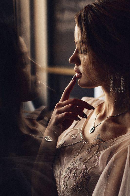 девушка, портрет, студия, белье Whisperphoto preview