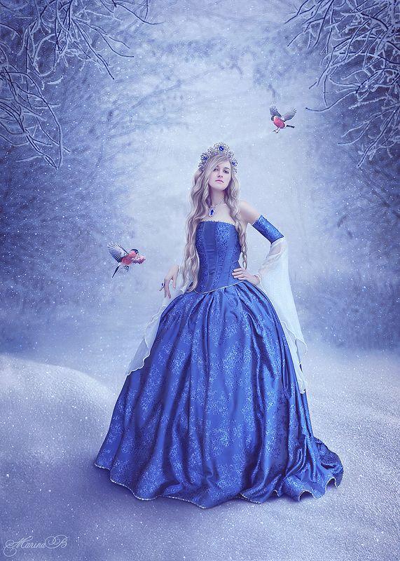 снежная королева, снег, зима, snow queen Fairy art / The Snow Queenphoto preview