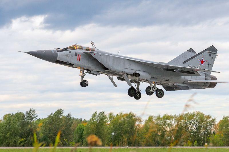 перехватчик, миг-31, авиация, вкс, глиссада Идём домой...photo preview