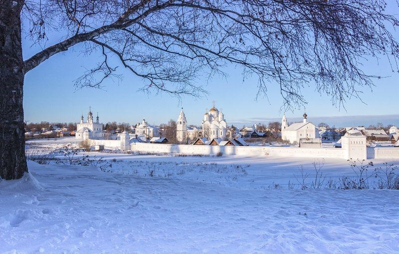суздаль,мороз,режимное время,крещенье. На Крещенье в Суздале.photo preview