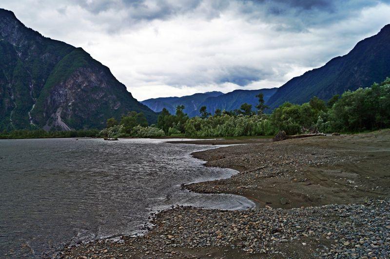природа алтай пейзаж путешествие озеро телецкое мыс кырсай Мыс Кырсай...photo preview