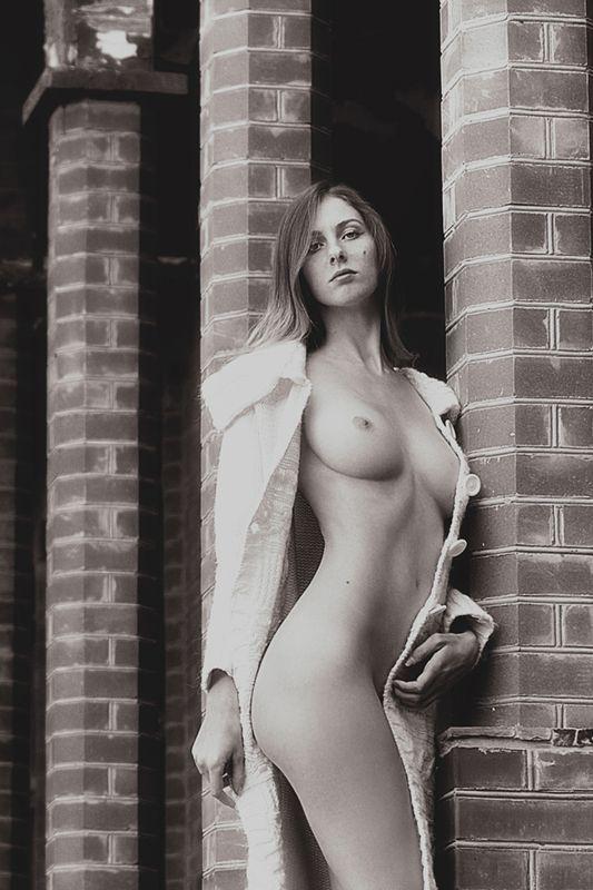 девушка, модель, ню Александраphoto preview