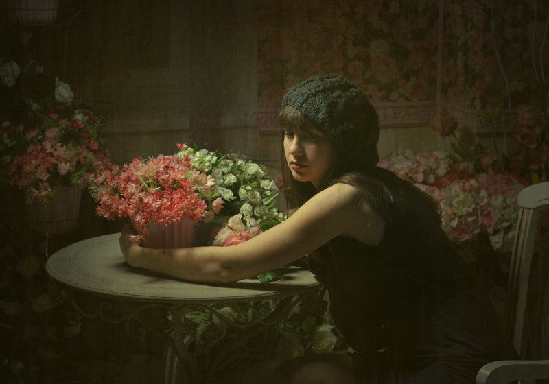 Добавить бы цветов и в мою жизнь...photo preview