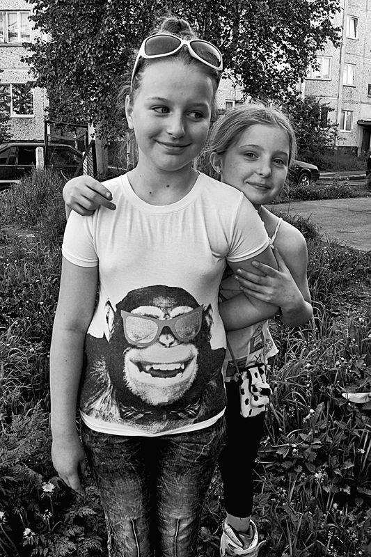 портрет, дети, глаза, взгляд, апатиты Весёлые очкиphoto preview