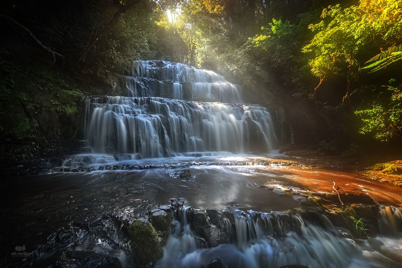 Purakanui Fallphoto preview