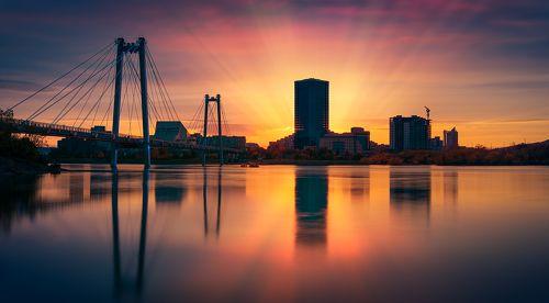 Город на большой реке