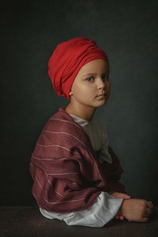 девочка, арт, fineart, портрет, винтаж Мавританкаphoto preview