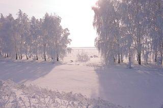 Мороз и солнце,день чудесный!